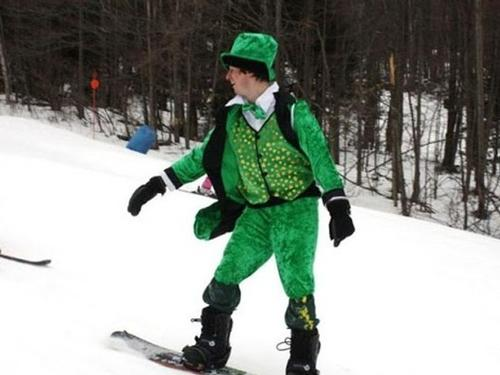 St. Patrick's Day Ski Deal