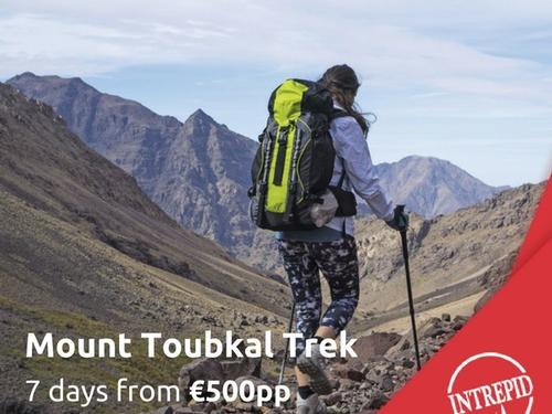 Mullingar Travel - Mount Toubkal Trek Tour From €500 PP
