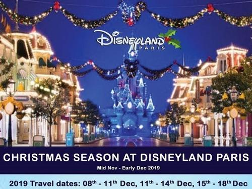 Grenham Travel - Disneyland Paris Christmas Season 2Adults + 2Chd fm €1828 per family (incl meals worth €588)