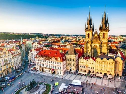 Prague With City Tour - 3 Nights - €307pp**