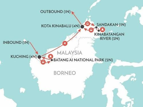 Grenham Travel Best of Borneo 16 Days - Book Now & SAVE 300 euro pps