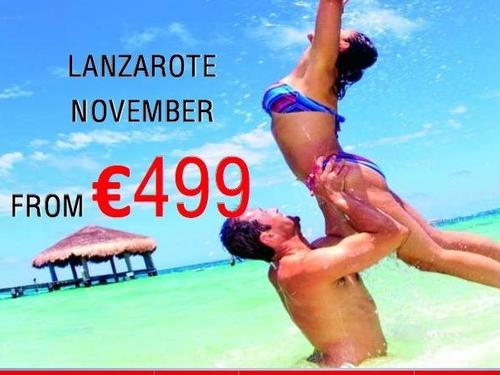 Lanzarote November from €499!
